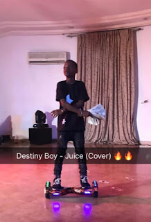 "music: Destiny Boy - ""Juice (Cover)"""