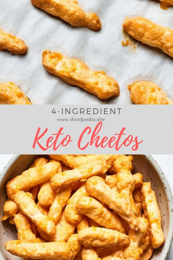 4-Ingredient Keto Cheetos #easy #snack #keto #cheetos #dietfood