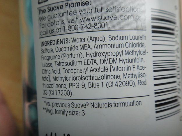 Steer clear of Shampoos with ammonium lauryl sulfate