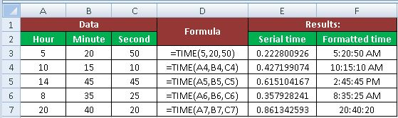 TIME Function