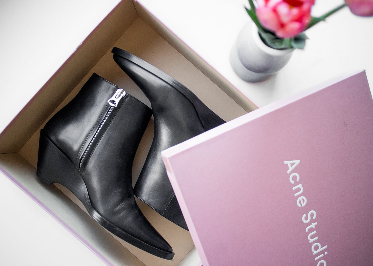 Favorite fashion purchases of the year - Acne Studios Cony boots