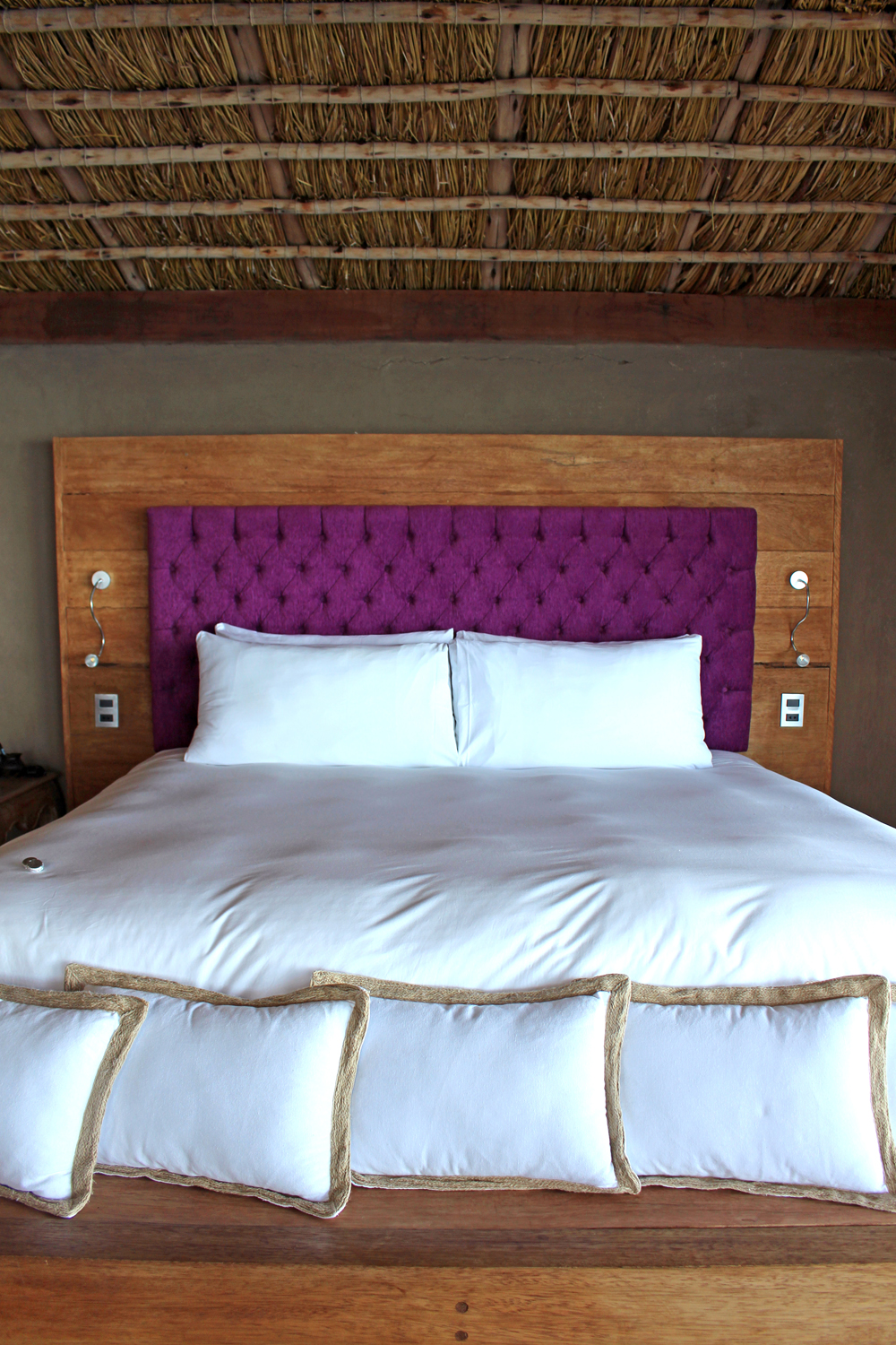 Bedroom at Amantica Lodge, Lake Titicaca, Peru - South America travel blog