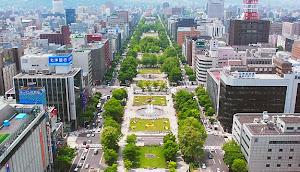Odori Park Sapporo Japan