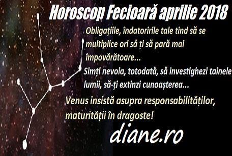 Horoscop aprilie 2018 Fecioară