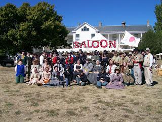 Fort Worden 2016 Mixed Era Military Reenactment Group Photo