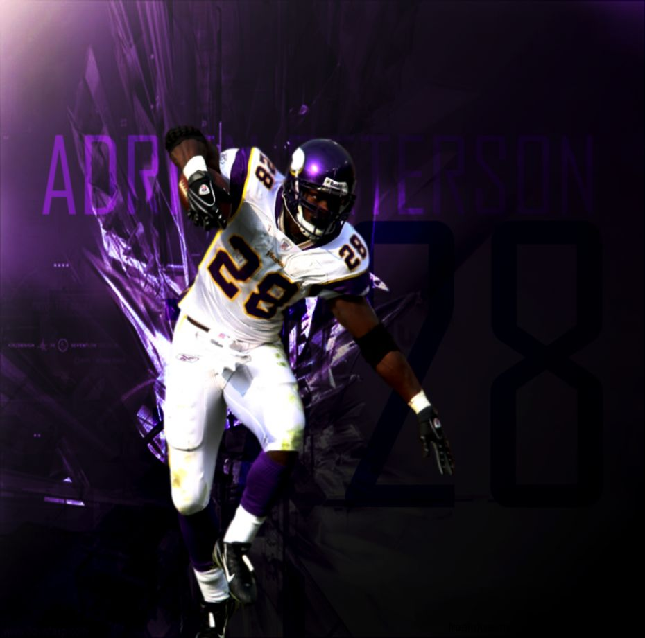 Gallery For > Adrian Peterson 2013 Wallpaper