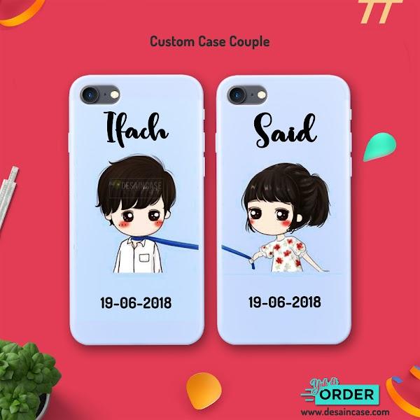 Tutorial Mockup Custom Case Couple IPhone 7