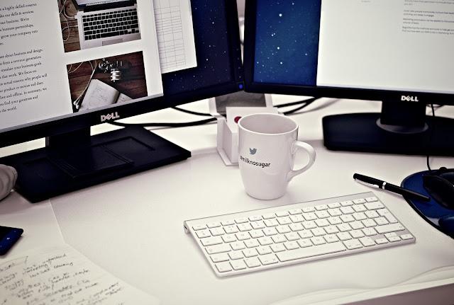 Strani blogovi su uglavnom minimalističkog dizajna