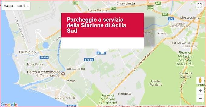 PUMS - Il parcheggio di Acilia Sud