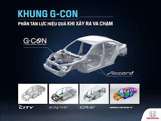 Giới thiệu CÔNG NGHỆ G-CON của Honda