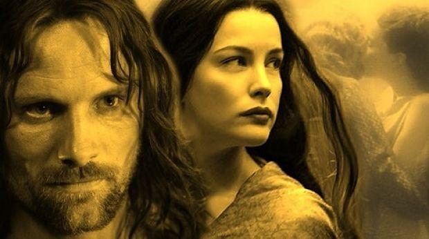 Resultado de imagen de Aragorn y Arwen