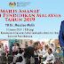 Amanat Menteri Pendidikan Malaysia Tahun 2019