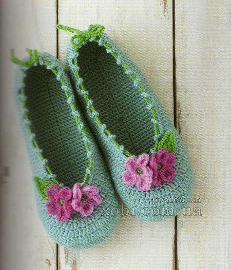 Free Crochet Moccasin Slipper Pattern: Crochet slipper patterns ...