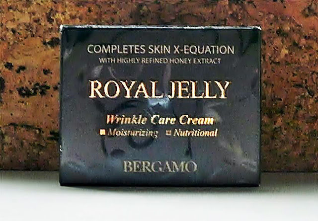 Recenzja kremu z królewskim mleczkiem pszczelim marki Bergamo