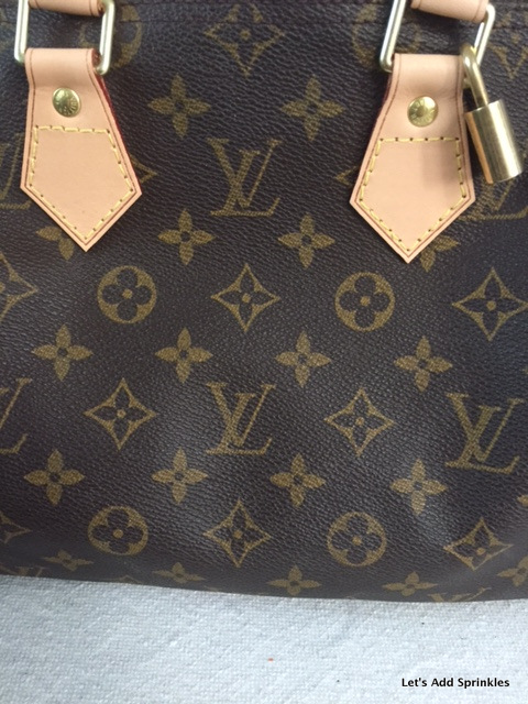 New leather on a Speedy 25, Louis Vuitton