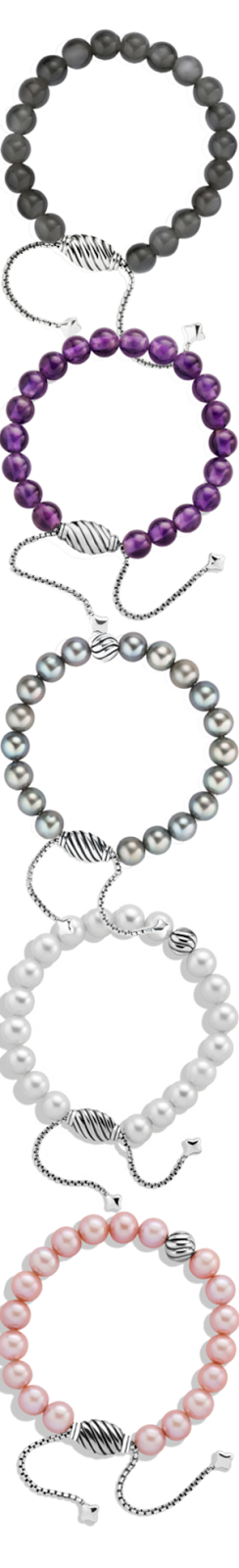David Yurman Spiritual Beads Assorted Bracelets