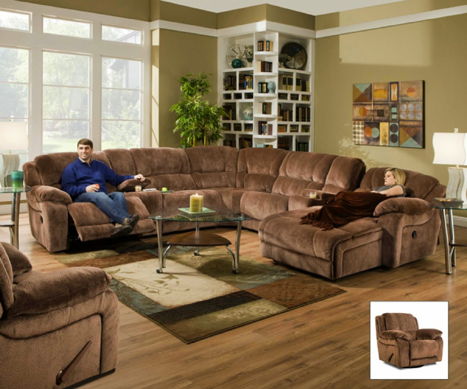 Best Reclining Sofa For The Money: Simmons Reclining Sofa ...