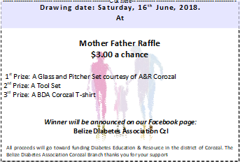 Mother Father raffle