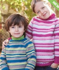 http://www.yarnspirations.com/pattern/knitting/kids-top-down-striped-sweater