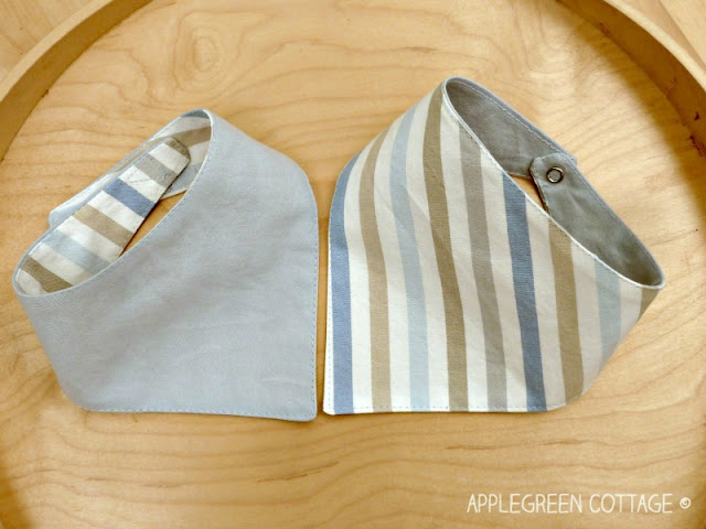 Dribble Bibs Sewing Pattern And A Finished Bib