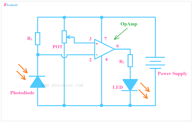Photodiode Project: Light Sensor Circuit