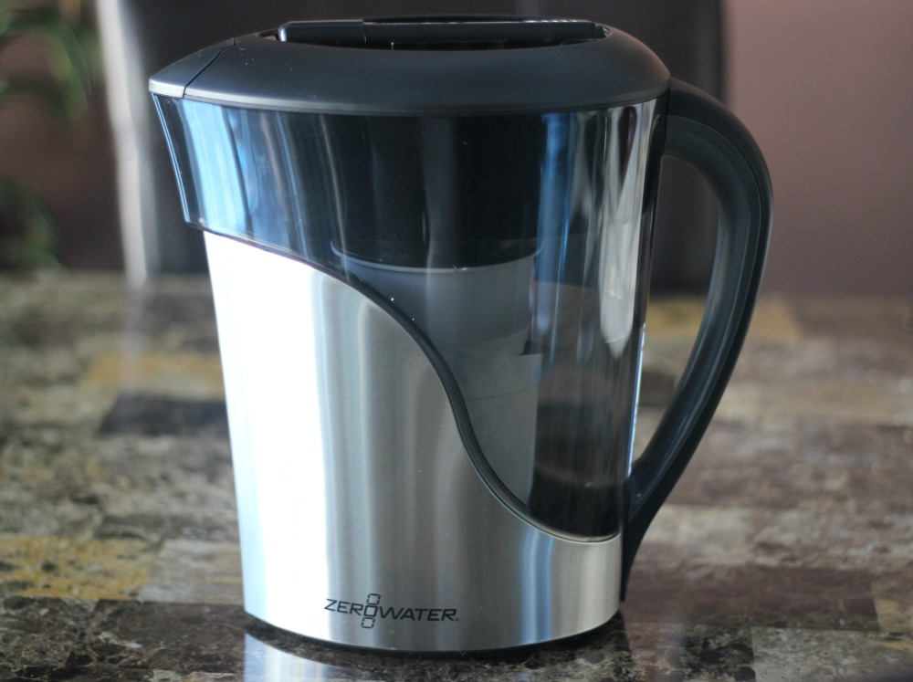 ZeroWater 8-Cup Stainless Steel Pitcher