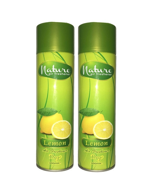 Pack Of 2 - Nature Lemon Air Freshener 300 ml