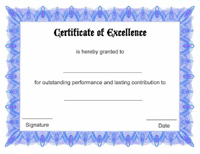 Free Certificate Template Download Drfse