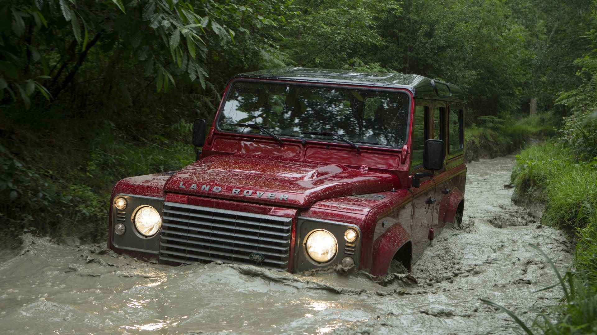 Land Rover Okc >> wallpaper: Land Rover Defender Off Road Wallpapers