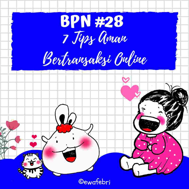 7 Tips aman Bertransaksi online