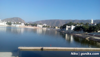 Pushkar lake sarovar