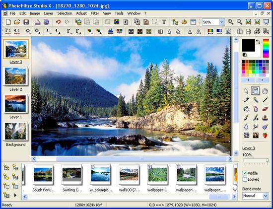 X 10.4.1 TÉLÉCHARGER PHOTOFILTRE STUDIO