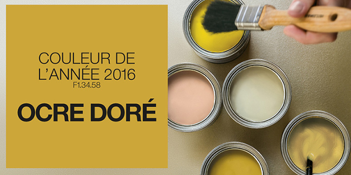 Le blog belmon d co ocre dor couleur phare en 2016 - Couleur ocre jaune ...