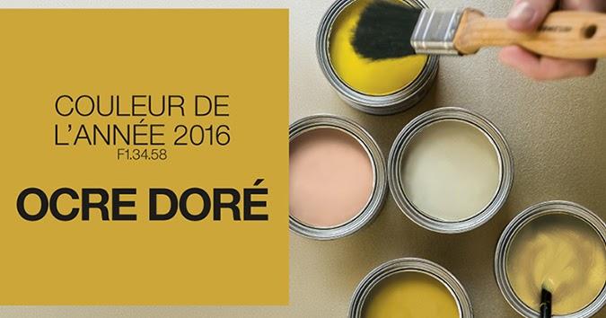 Le blog belmon d co ocre dor couleur phare en 2016 - Deco chambre dore ...