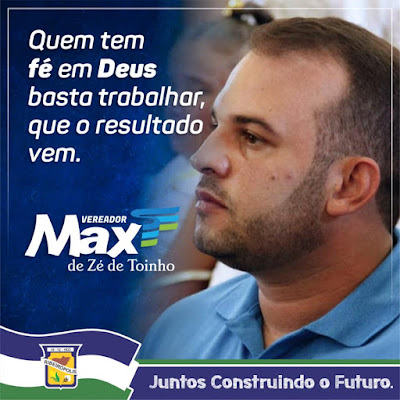 REFLEXÃO DO VEREADOR DA GENTE!
