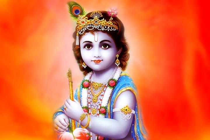 beautiful bal krishna image