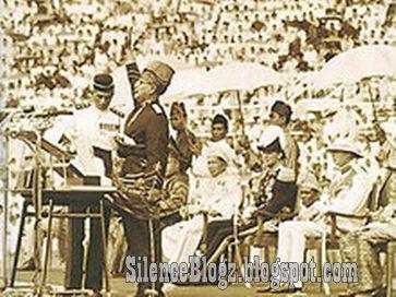 Malam pemasyuran kemerdekaan Tanah Melayu 31 Ogos 1957