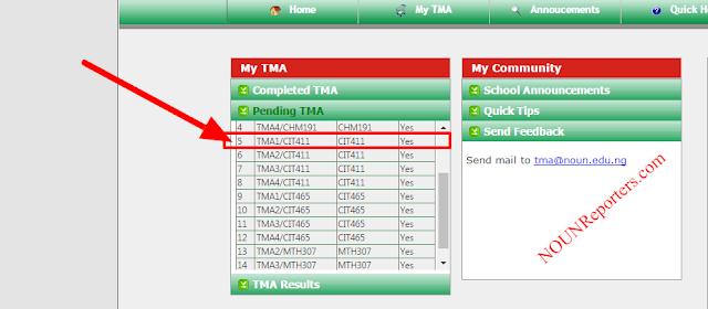 TMA Control Center - CIT411