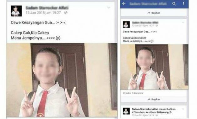 Anak SD Pamer Pacar Di Sosial Media - Gaya Pacaran Anak Jaman Sekarang