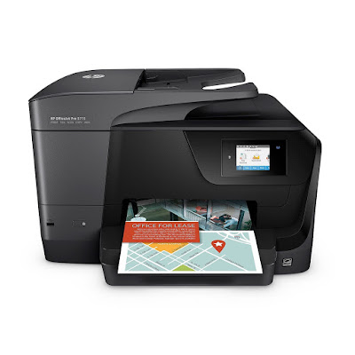 Allows yous to impress on both sides of the page HP OfficeJet Pro 8715 Driver Downloads