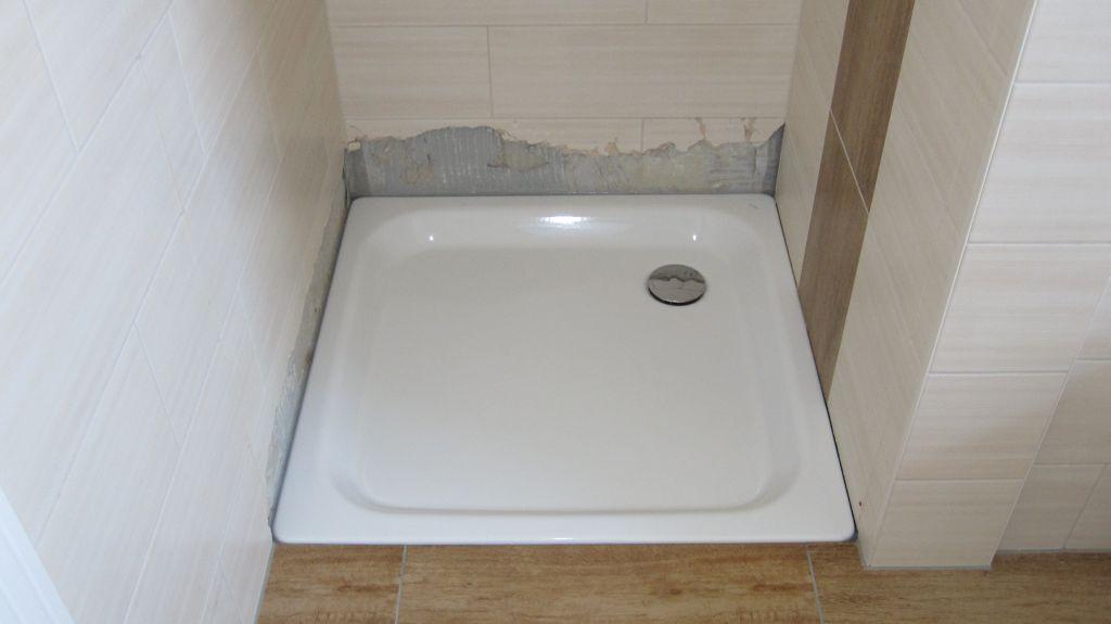 duschtasse einbauen molger anleitung duschwanne flach. Black Bedroom Furniture Sets. Home Design Ideas