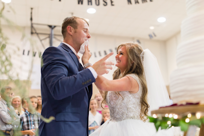 Joseph and Kendra Duggar's wedding