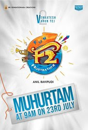 F2 Fun and Frustration 2019 Telugu HD Quality Full Movie Watch Online Free