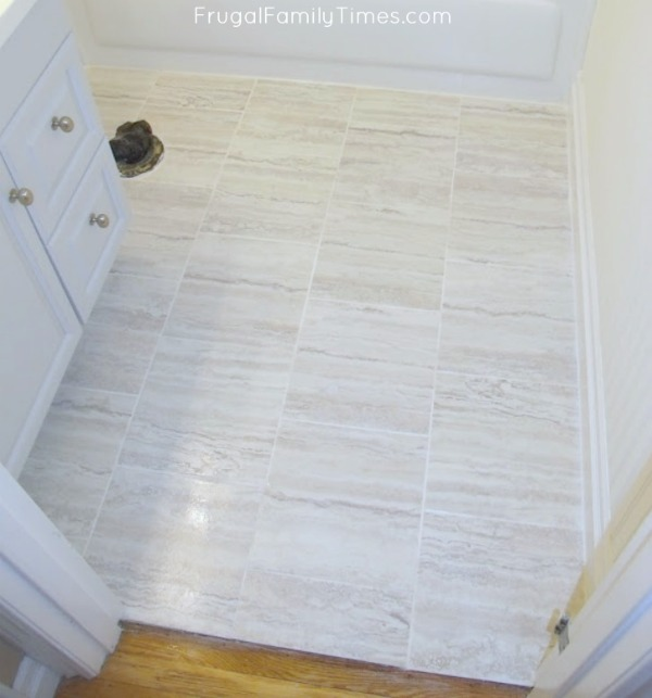 How To Install Peel And Stick Vinyl Tiles That You Can Grout