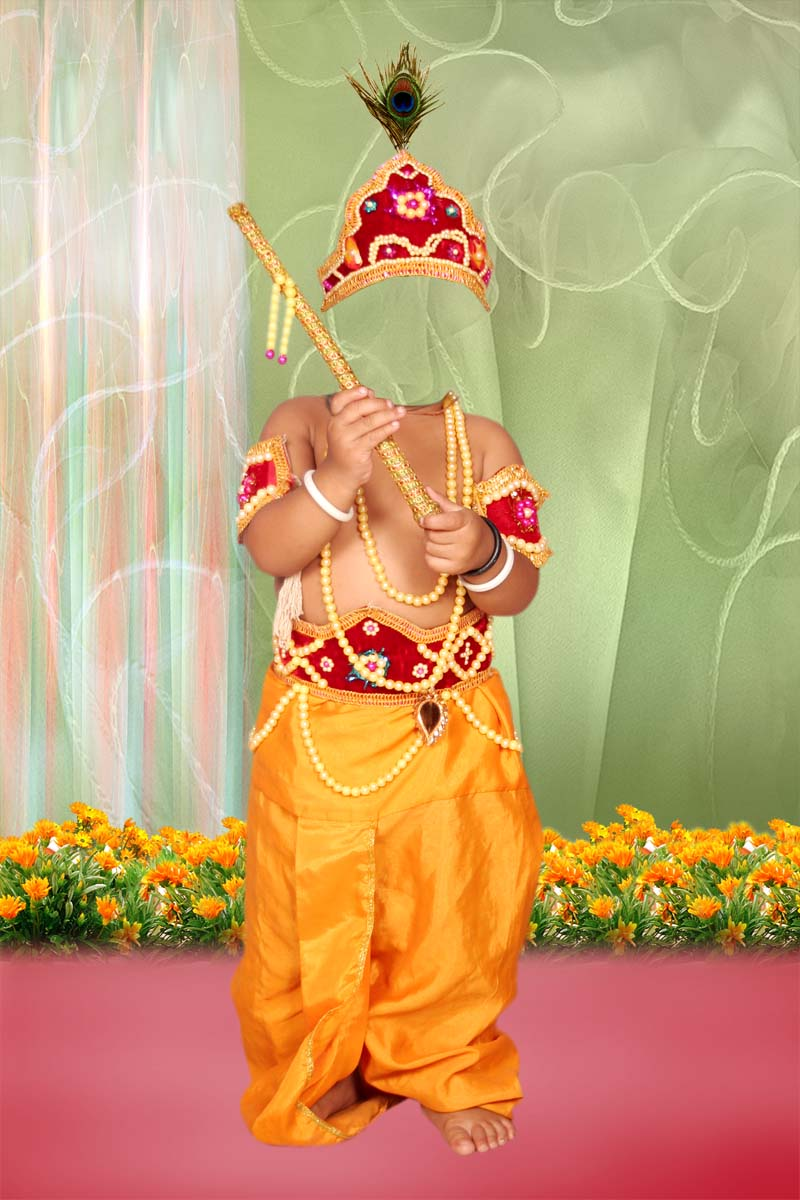 Krishna Dresses Psd For Kids Free Download For Free | Psd ...