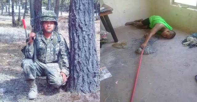 La historia de El soldado trastornado por la guerra contra el narco y que la Sedena lo abandono a su suerte