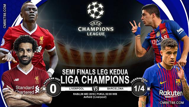 Prediksi Bola Liverpool VS Barcelona