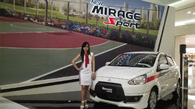 Paket Kredit Mitsubishi New Mirage 2015