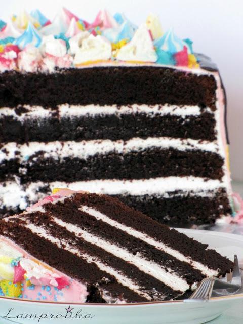 Σοκλολατένια τούρτα μονόκερος