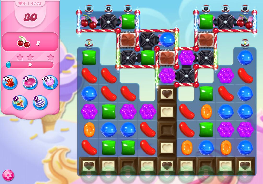 Candy Crush Saga level 4143